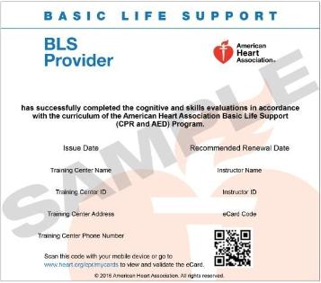 American Heart Association eCards | CPR Heart of Angels